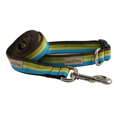 Lola and Foxy Dublin Stripe Dog Lead