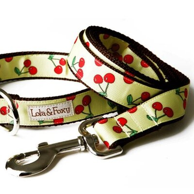 Lola and Foxy Lemon Cherry Dog Lead