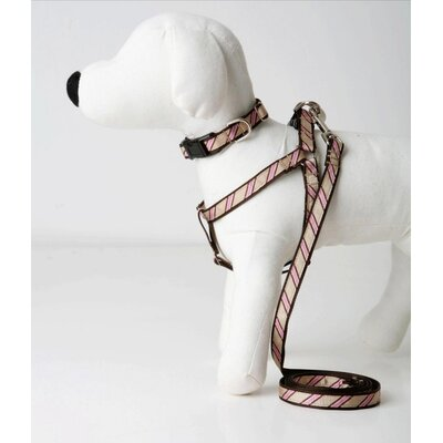 Lola and Foxy Varsity Stripe Dog Collar
