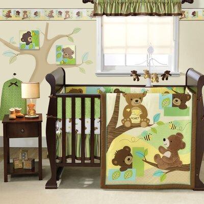 Honey Bear Crib Bedding Collection