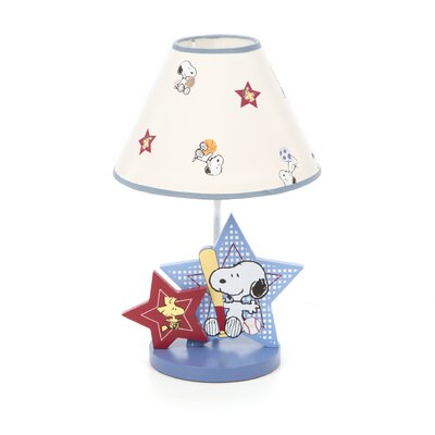 Bedtime Originals Champ Snoopy Table Lamp with Shade