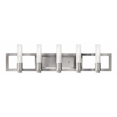 Fredrick Ramond Flair 5 Light Vanity Light