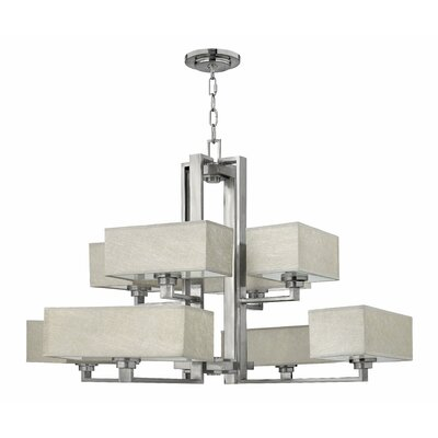 Fredrick Ramond Quattro 8 Light Chandelier