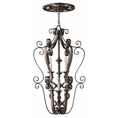 Paloma 6 Light Foyer Hanger