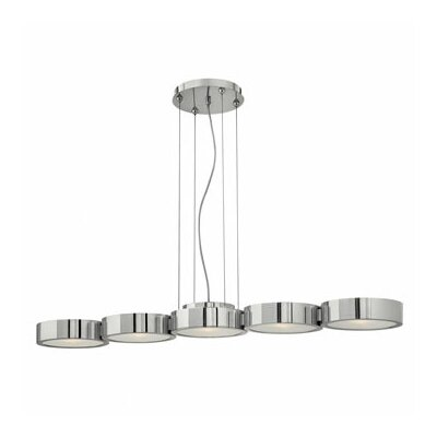 Broadway 5 Light Linear Chandelier