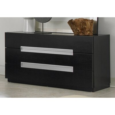 Modloft Monroe 3 Drawer Dresser
