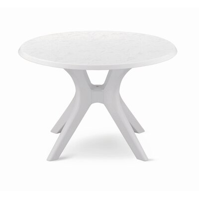 "Kettler USA 46"" Kettalux Plus Dining Table with Umbrella Hole"