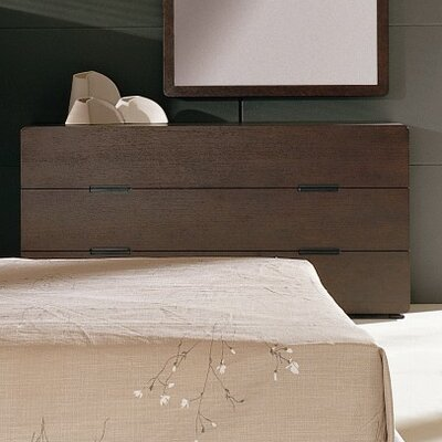Hokku Designs Cosmo 6 Drawer Dresser