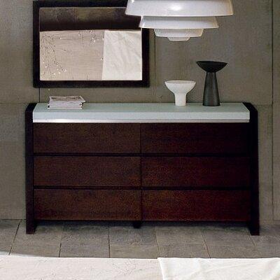Hokku Designs Metro 6 Drawer Dresser
