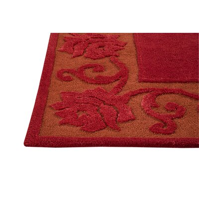 Hokku Designs Eyer Red Rug