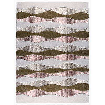 Hokku Designs - 60Sound Khaki/Rust Rug