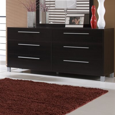 Lexington 6 Drawer Dresser