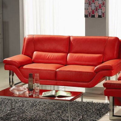 LA Leather Sofa