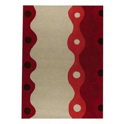 Hokku Designs Monaco Red Rug