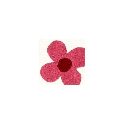 Hokku Designs Milan White Blossom Rug