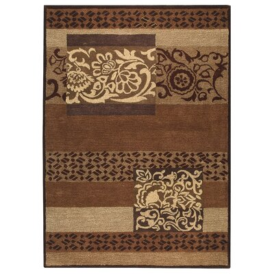 Hokku Designs Turismo Brown Rug