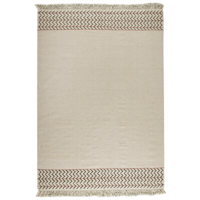 Hokku Designs Tablas Kilim White Rug