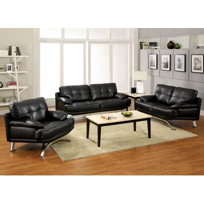 Hokku Designs Malibu 3 Piece Living Room Set