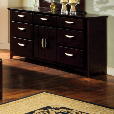 Atlas 7 Drawer Combo Dresser
