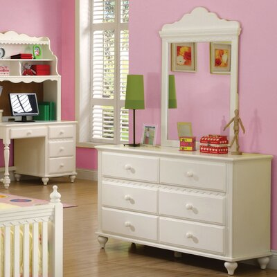Hokku Designs Kylie 6-Drawer Dresser