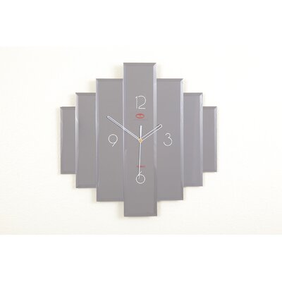 Hokku Designs Layered Glass Wall Clock
