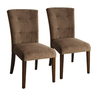 Hokku Designs Zoie Velvet Parsons Chair