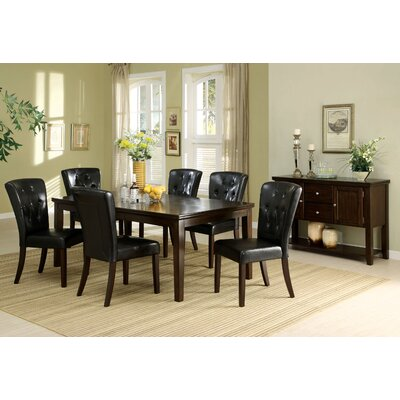 Hokku Designs Edgewood 7 Piece Dining Set
