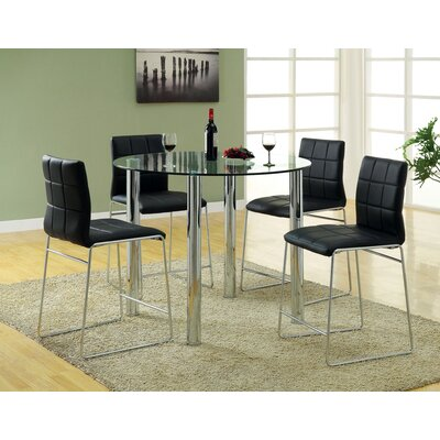 Hokku Designs Narbo 5 Piece Counter Height Dining Set