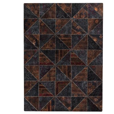 Tile Viviana Black / Brown Rug