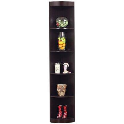 "Hokku Designs 76.75"" Tray Corner Bookcase"