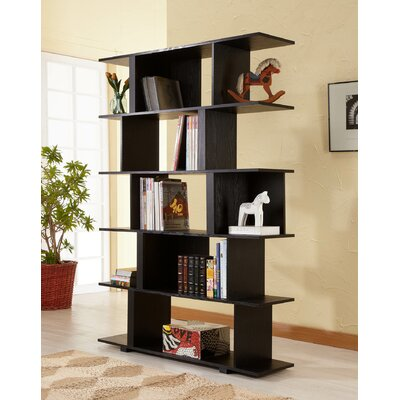 Hokku Designs Fuzion Bookcase/Display Stand in Black