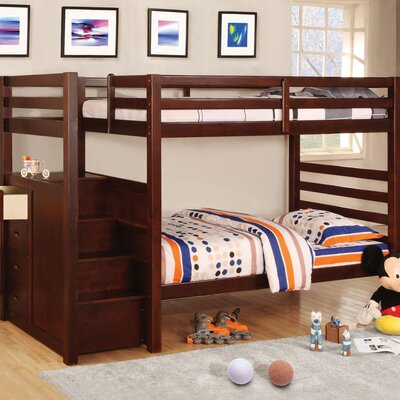 Hokku Designs Orson Twin Over Twin Bunk Bed