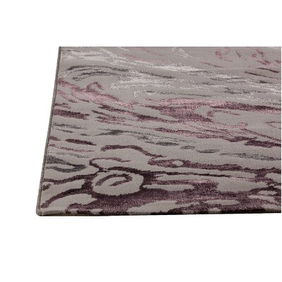 Hokku Designs Dark Grey/Purple Rug