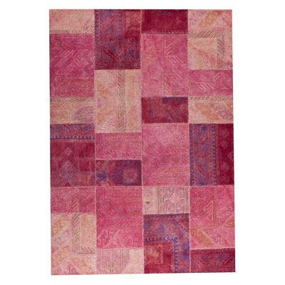 Hokku Designs Satinath Light Pink Rug
