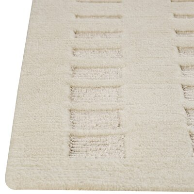 Hokku Designs Skyline White Rug
