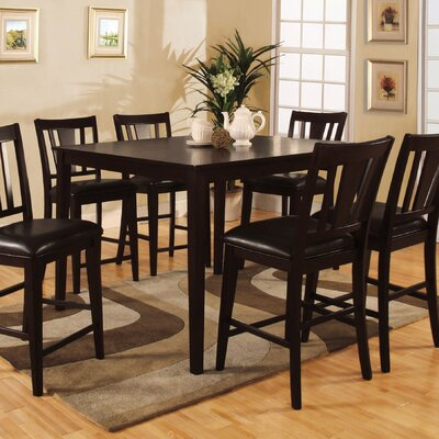 Bridgette 7 Piece Counter Height Dining Set
