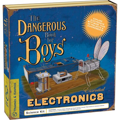 Thames & Kosmos Classic Science The Dangerous Book for Boys Essential Electronics Kit