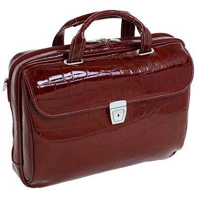Ignoto Ladies' Large Leather Laptop Brief