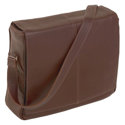 Siamod San Francesco Leather Messenger Bag