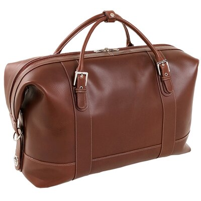 "Siamod Manarola Amore 21"" Leather Travel Duffel"