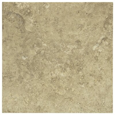 "Shaw Floors Lunar 18"" x 18"" Porcelain Tile in Beige"