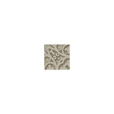 "Shaw Floors Lunar Listello Corner 2"" x 2"" Tile Accent in Beige"