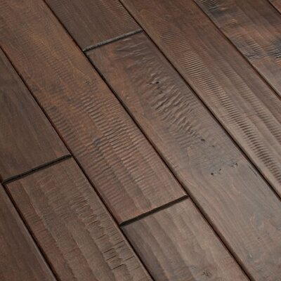 "Shaw Floors Lewis and Clark 4"" Solid Red Maple Flooring in Expedition"