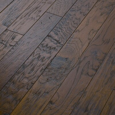 "Shaw Floors Epic Pebble Hill 3-1/4"" Engineered Hickory Flooring in Warm Sunset"