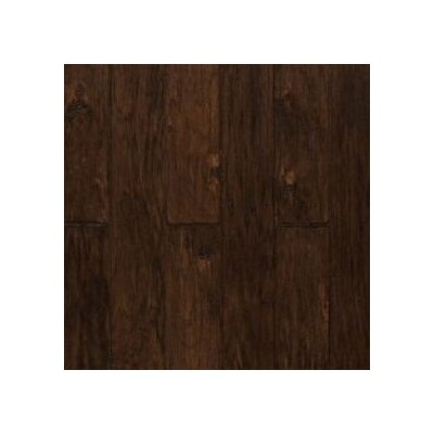 "Shaw Floors Vicksburg 4-7/8"" Engineered Hickory Flooring in Espresso"