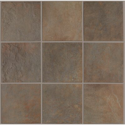 "Shaw Floors Lacava 18"" x 18"" Porcelain Tile in Khaki"
