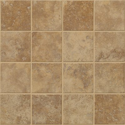 "Shaw Floors Soho 12"" x 12"" Mosaic Tile Accent in Walnut"