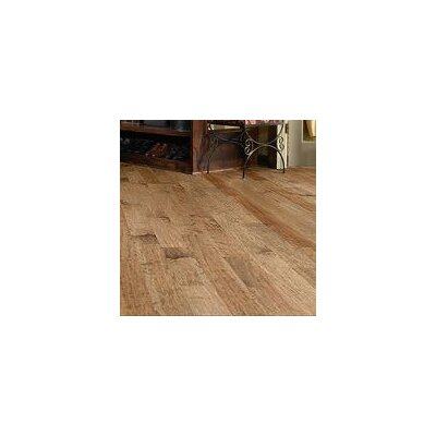 "Shaw Floors Autumn Ridge 5"" Engineered Handscraped Maple Flooring in Oat Straw"