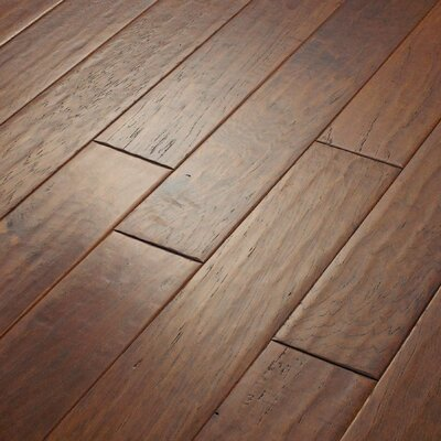 "Shaw Floors Kingwood 5"" Engineered Hickory Flooring in Thistle"