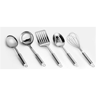 Range Kleen Stainless 5 Piece Kitchen Tool Set